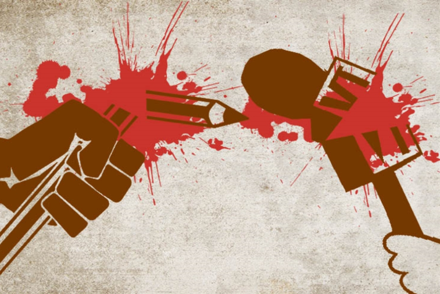 مجزرة الرقاص: استهداف الإعلام