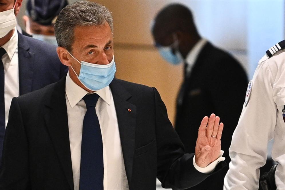 قرارٌ بسجن ساركوزي ثلاث سنوات
