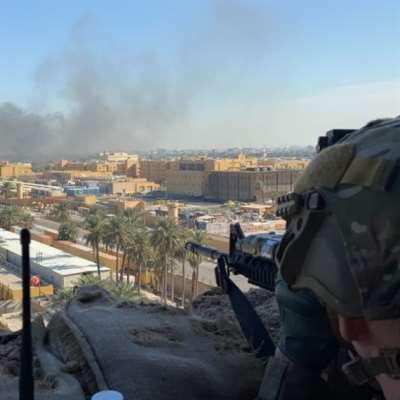 هجوم صاروخي على «قاعدة بلد» الجوية