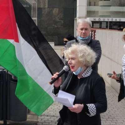 تظاهرة تضامن مع زيمور في وجه دعوى إسرائيلية