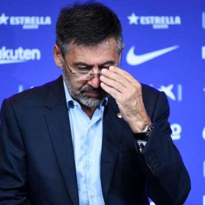 مداهمات واعتقالات في نادي برشلونة