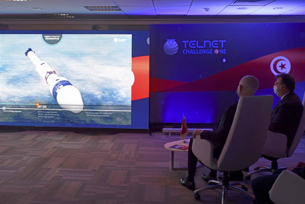 تونس تطلق قمراً اصطناعياً محلي الصنع بالكامل