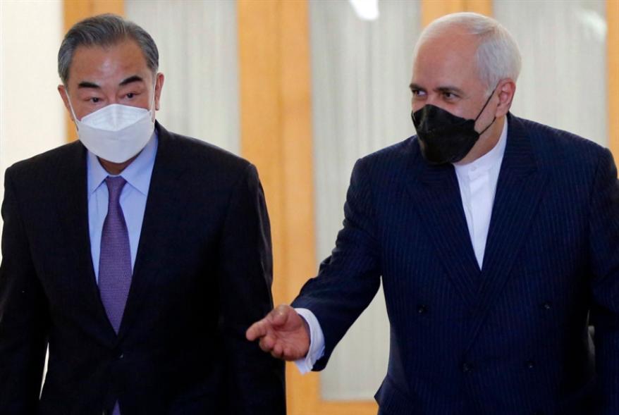 اتفاق طهران وبكين «في وجه الولايات المتحدة»