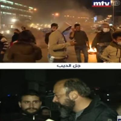 احتجاجات الشارع: سهرة (قصيرة) على قنوات «الثورة»