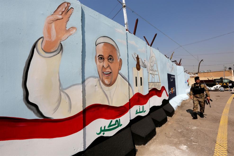 البابا يؤكّد أنه سيزور العراق