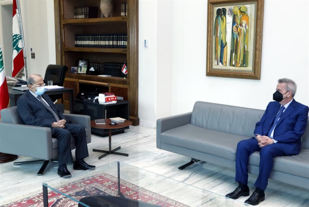رئاسة الجمهورية: هذا ما حصل بين عون وسلامة