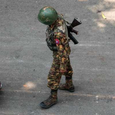 مقتل عشرات المتظاهرين برصاص قوات الأمن في ميانمار