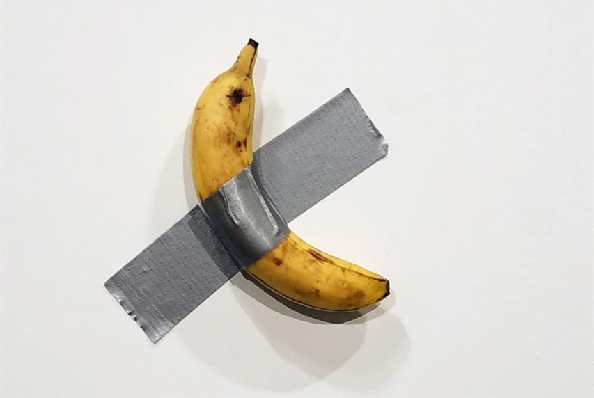 الرجل الذي أكل الموزة