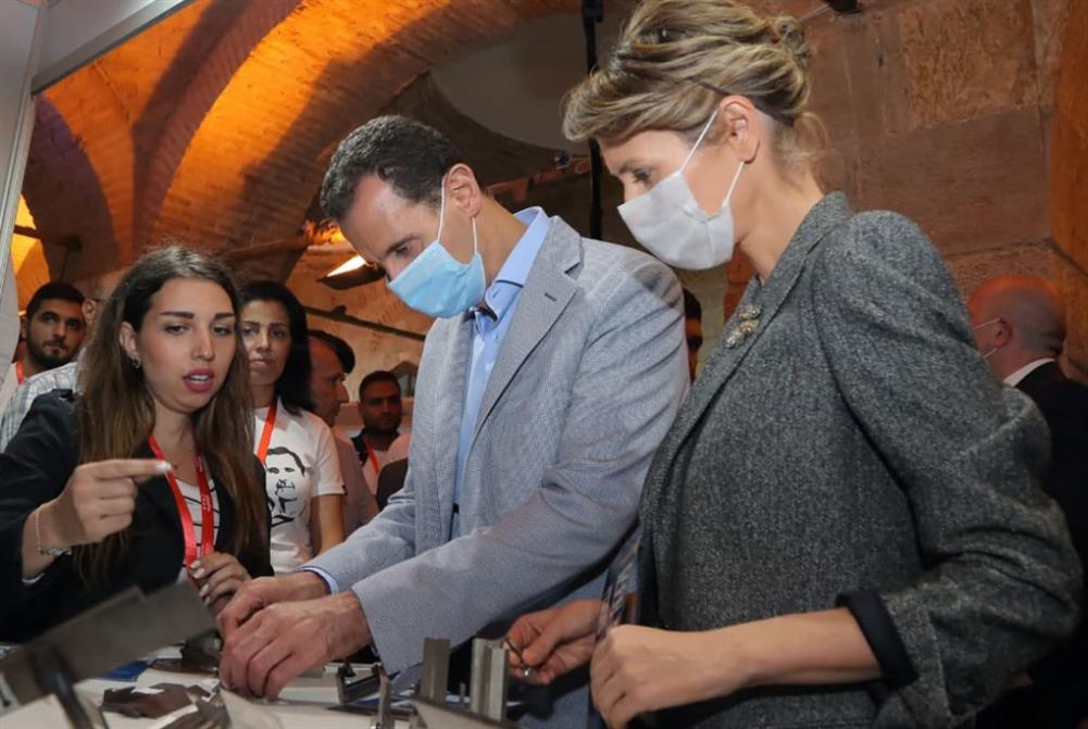 الأسد وعقيلته مصابان بفيروس «كورونا»