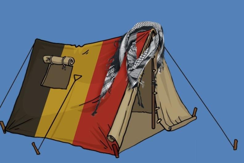 المخيّم البعيد: عن رحلة أحمد إلى بلجيكا