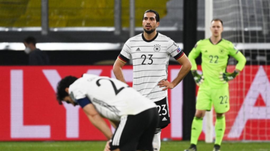 صورة ألمانيا غاضبة بعد السقوط أمام مقدونيا الشماليّة