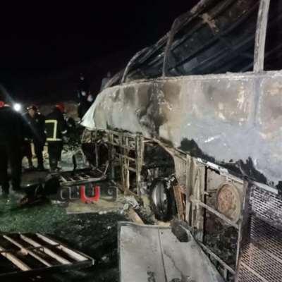 مصر: مقتل 20 في حادث تصادم في أسيوط