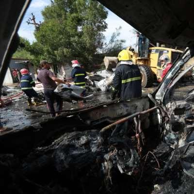 قتلى وجرحى في انفجار سيارة مفخخة في بغداد