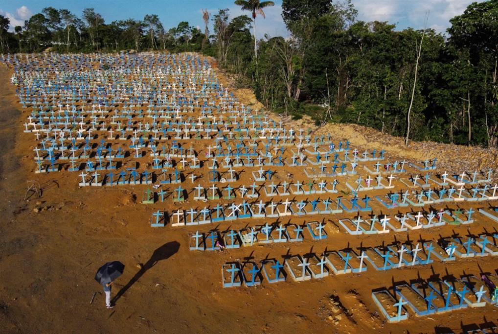 دراسة: المتحوّر البرازيلي قد يصبح أكثر خطورة