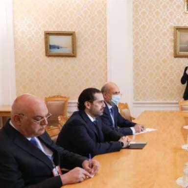 الحريري يختتم زيارته لروسيا بلقاء لافروف: دعم لتأليف حكومة برئاسته