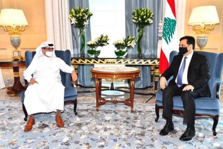 دياب يواصل زيارته للدوحة ويلتقي كبار المسؤولين القطريين