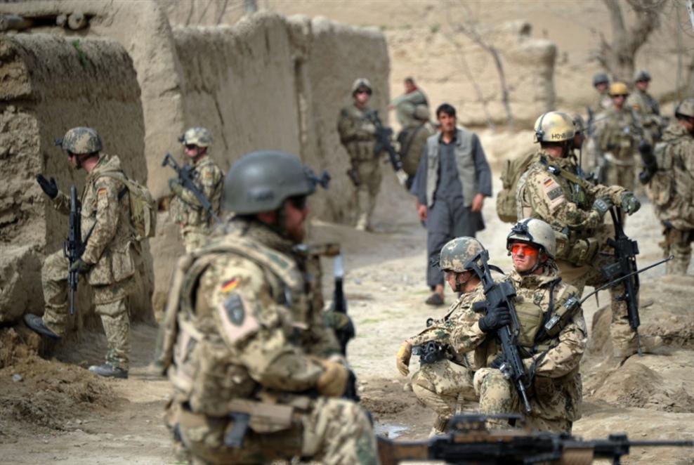 ألمانيا تسحب قواتها من أفغانستان بحلول الرابع من تموز