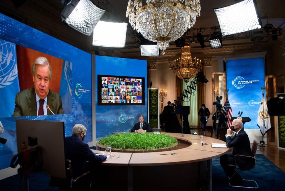 انطلاق قمة المناخ العالمية.. افتراضياً