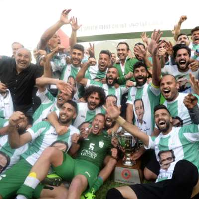 الأنصار بطل لبنان
