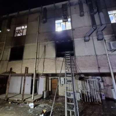 بغداد: 82 قتيلاً في حريق داخل مستشفى لمرضى «كورونا»