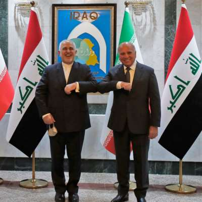 ظريف من بغداد: نثمّن جهود العراق في تأمين أرضية للحوار