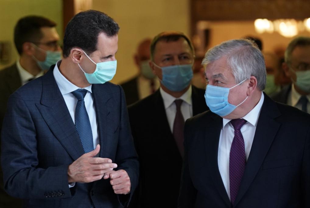 الأسد يستقبل لافرنتييف: تعاونٌ لتخفيف آثار العقوبات الجائرة