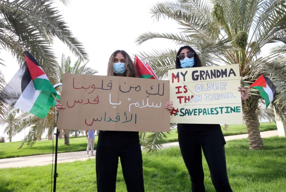 «ذباب التطبيع» ينكشح: الخليجيون مع فلسطين