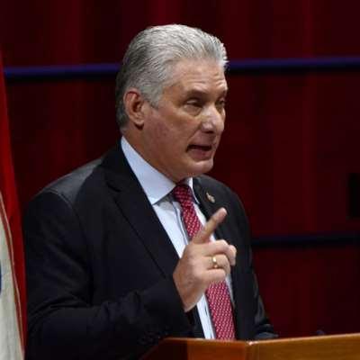 الرئيس الكوبي يدعو إلى وقف الاعتداءات على غزة