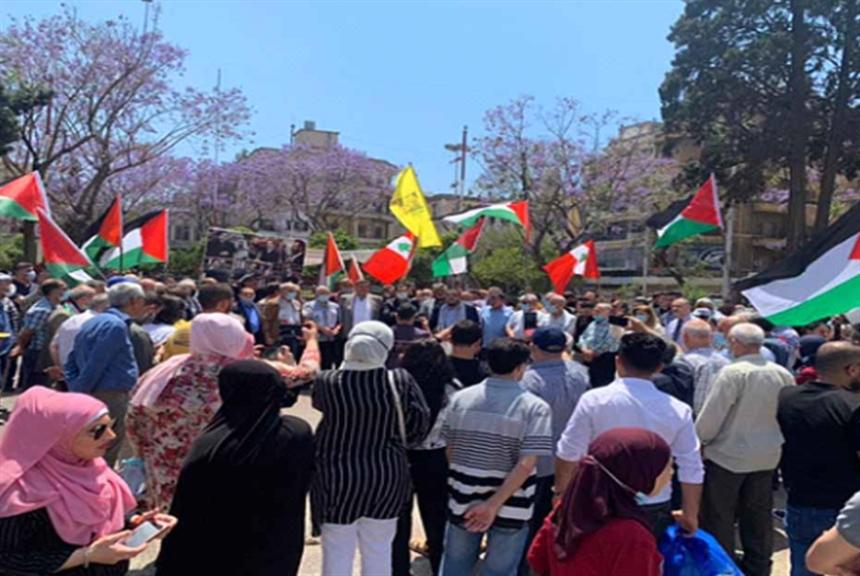 طرابلس تتضامن مع الأقصى والقدس ضد العدوان الإسرائيلي