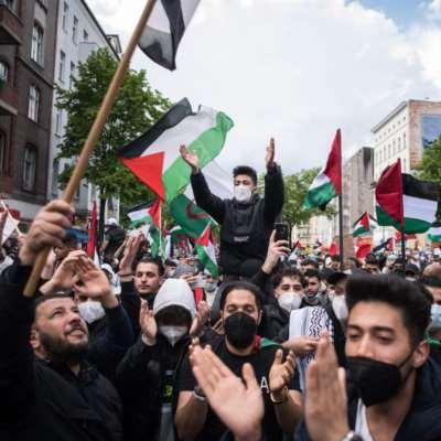 الشرطة الألمانية «استشرست» ضد آلاف الداعمين لفلسطين