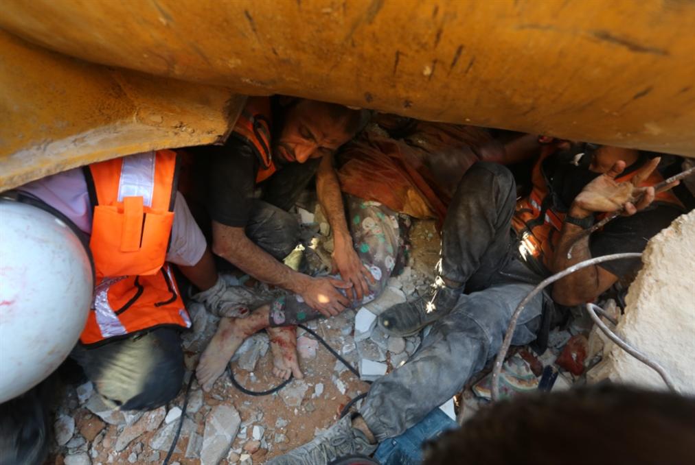 «الدفاع المدني» في غزة يُعاني... ومناشدة لدول الجوار!