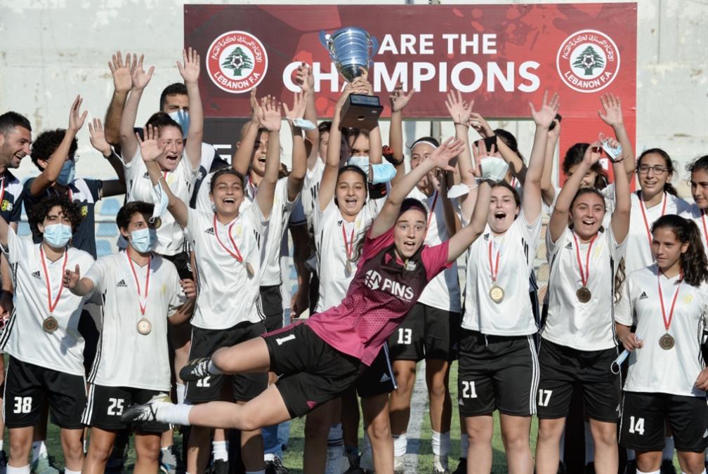 فريق ايلفين برو بطلاً لدوري الشابات