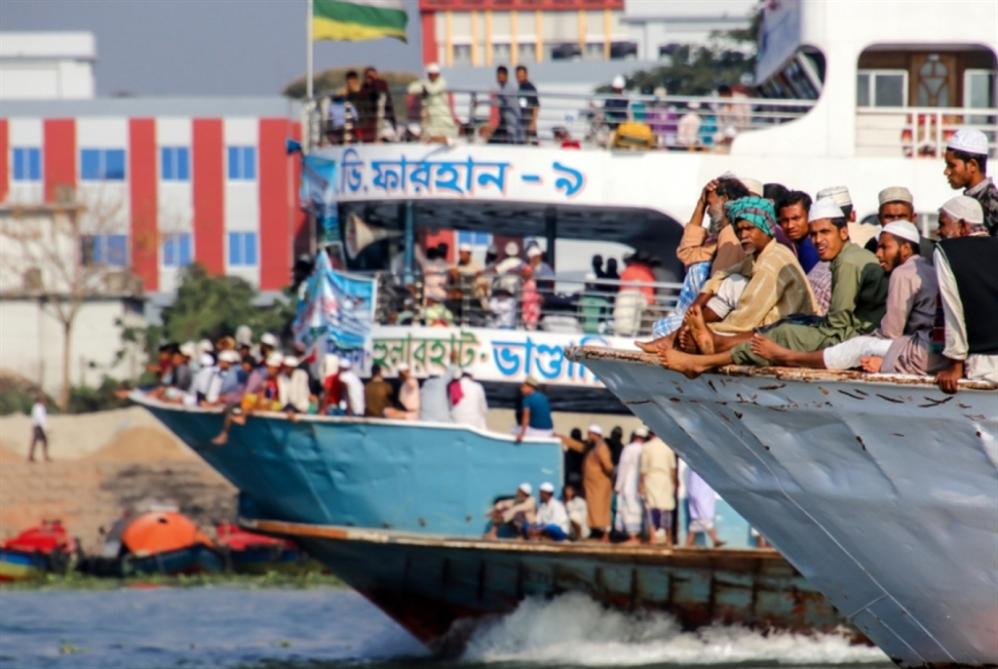 بنغلادش: مقتل 25 شخصاً في حادث تصادم قاربين