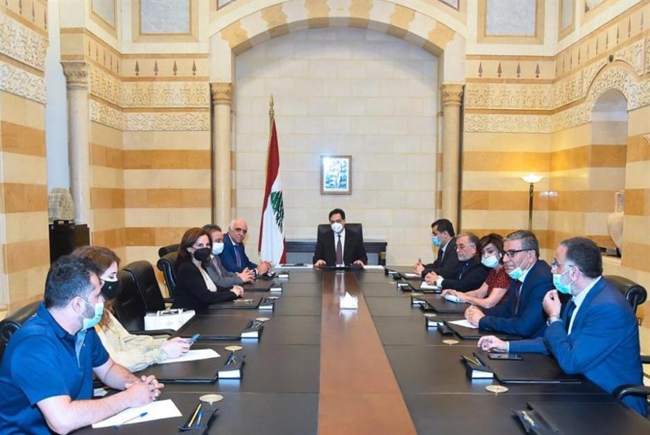 دياب: الحكومة اقترحت 4 سيناريوهات لترشيد الدعم