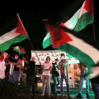 في صيدا «علم وكوفية وصرخة» تضامناً مع فلسطين
