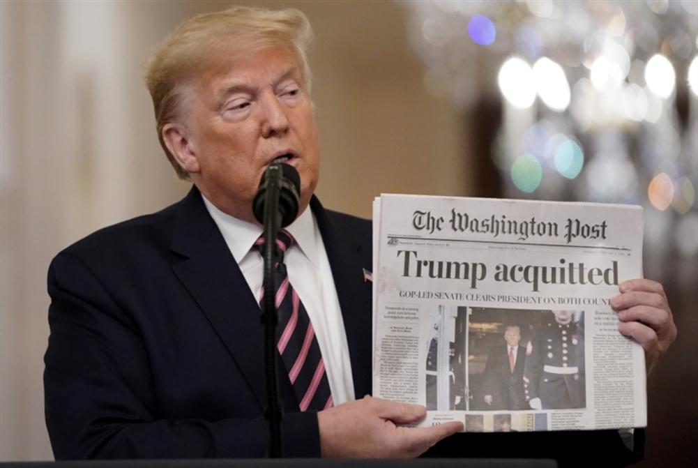 واشنطن بوست: إدارة ترامب حصلت على بيانات هواتف صحافيين