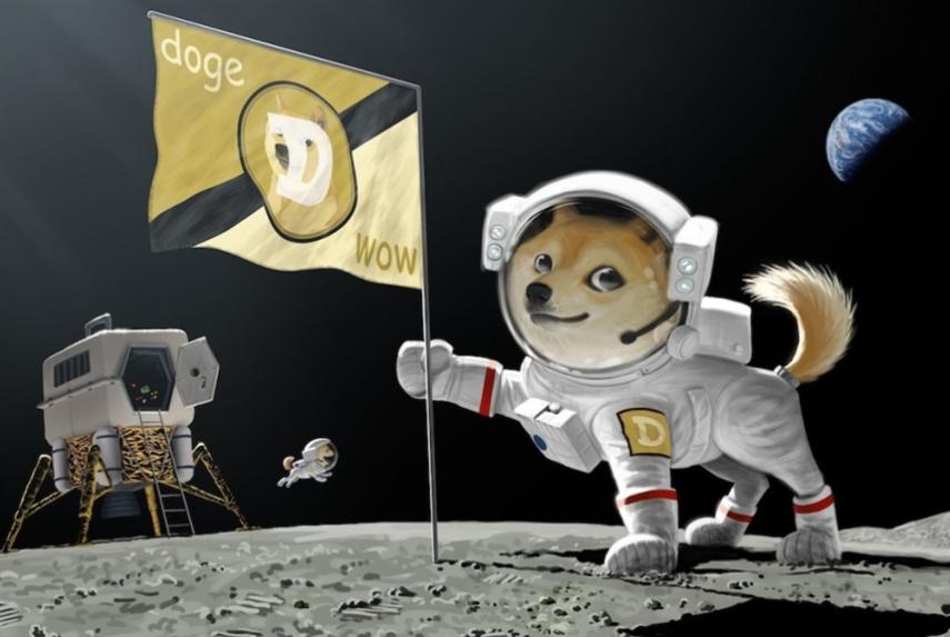 «دوجكوين» تفتتح التجارة بين الكواكب