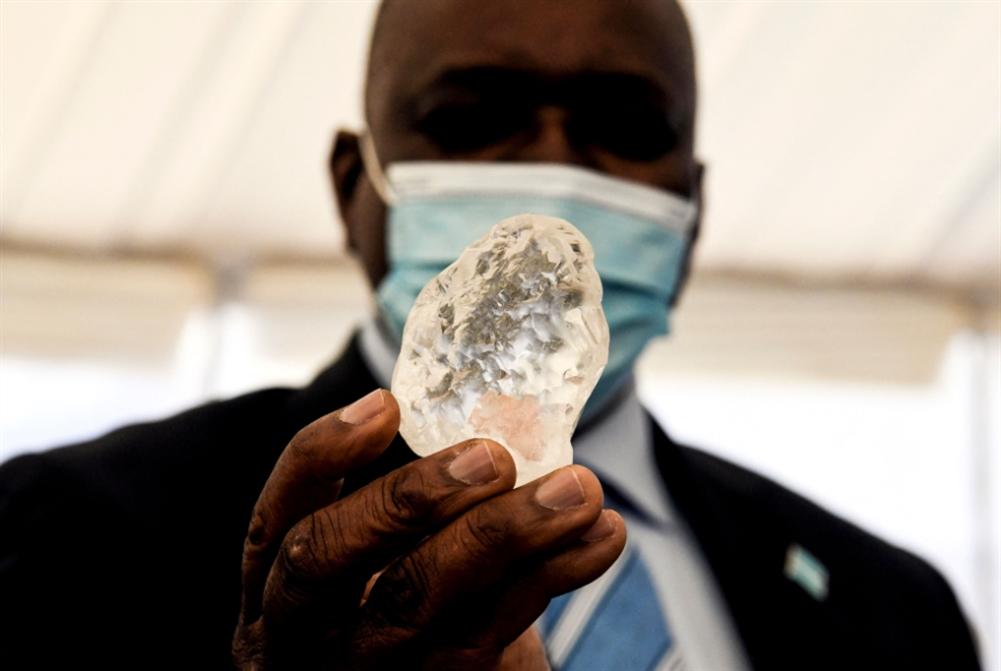 اكتشاف ثالث أكبر ألماسة في بوتسوانا... كم يقدّر ثمنها؟