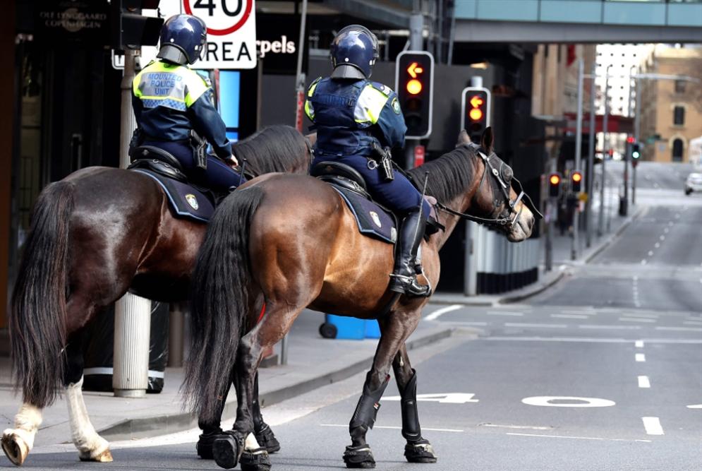 الشرطة الأسترالية تمنع احتجاجاً مناهضاً لقيود «كورونا»