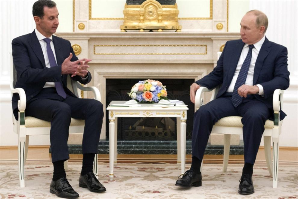 بوتين يلتقي الأسد في موسكو: القوات الأجنبية عائق أمام توحيد سوريا