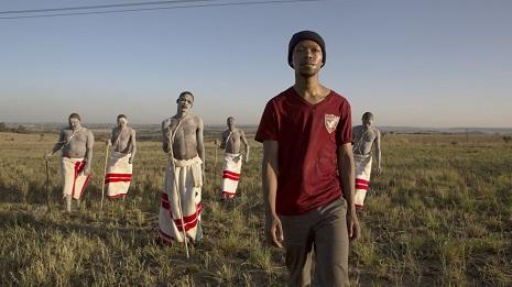 مشهد من «الجرح» للجنوب أفريقي جون ترنغوف