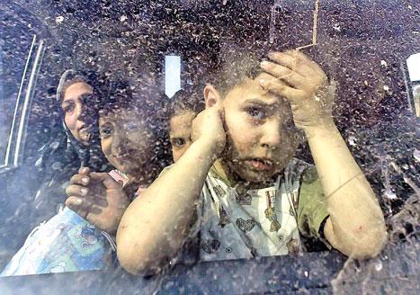 نازحون فلسطينيّون داخل