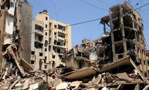 الدمار في الضاحية الجنوبية (أرشيف - مروان طحطح)