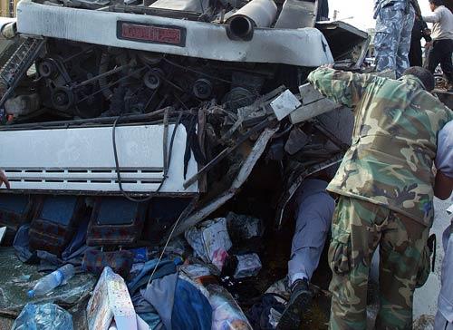 حادث سير في الكحالة (أرشيف ــ هيثم الموسوي)