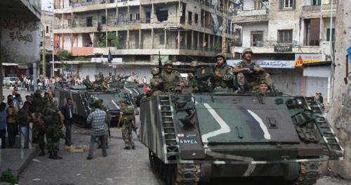 دخول الجيش اللبناني إلى منطقة الشويفات (بلال جاويش)