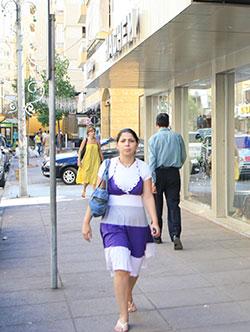 في سوق معوّض في الضاحية عام 2008 (مروان بو حيدر)