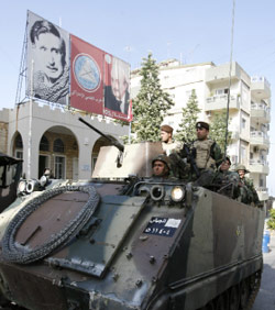 الجيش في الشويفات (بلال جاويش)