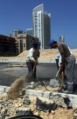 أكد محافظ بيروت أنه سيكشف على أعمال البناء في البيال (مروان طحطح)