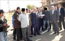 موقوفان يمثلان الجريمة في شتورا