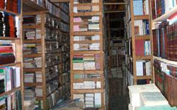جانب من مكتبة الحسيني